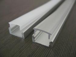 Profil  universel 2M alu plexi opal 16.5x11.7mm