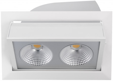 Wall washer 40w rectangle encastrable blanc