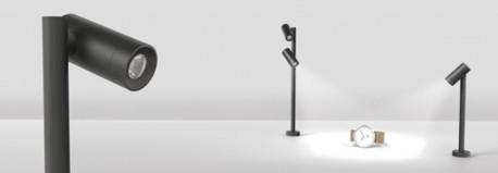 Led Spot 1x3w Noir black design