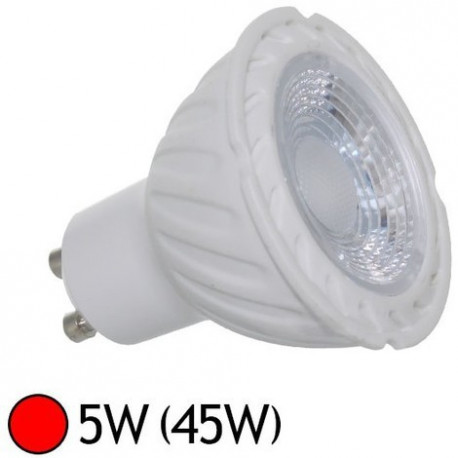 LED GU10  COULEUR ROUGE