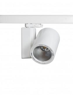 Tracklight 35w IRC 90 appareil BLANC pour rail universel lumière blanc neutre 4000K