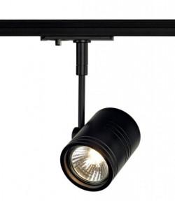 Minispot GU10 rond noir pour Led 230V