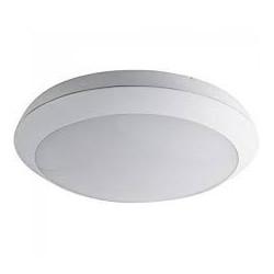 Plafonnier éco budget blanc rond diamètre 30cm