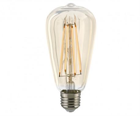 vous cherchez une lampe led rustica filament e27 230v tr s chaleureuse. Black Bedroom Furniture Sets. Home Design Ideas