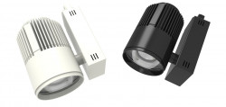 Profresh softwarm 30w appareil BLANC pour rail universel lumière blanc chaud 3K